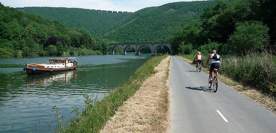 Ride the Trans-Ardennes Bike Path