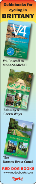Brittany cycling maps
