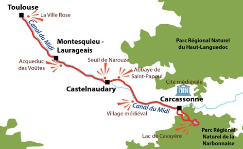 Cycling accommodation and cycling holidays in France Freewheeling