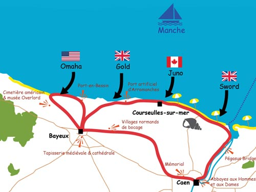 Cycling the D-day beaches