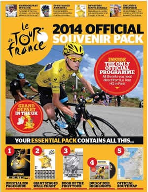Tour De France Official Programme