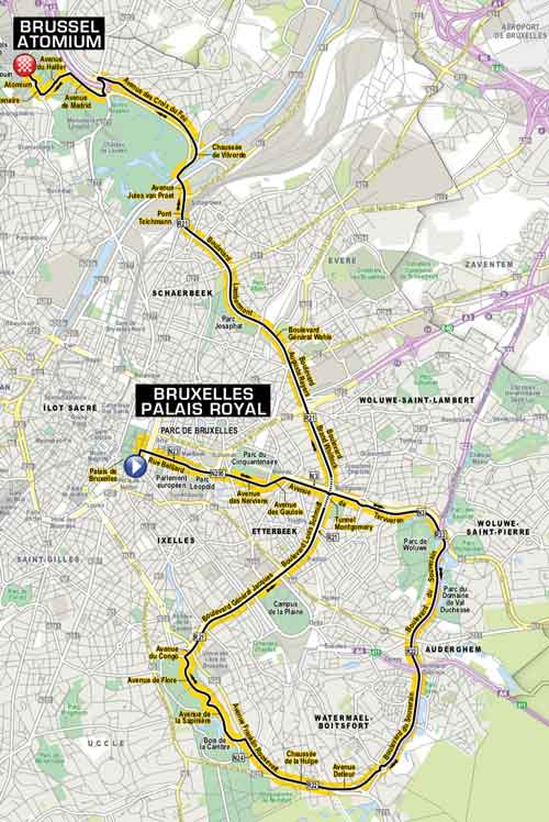 Tour De France 2019 Route Stage By Stage Guide Freewheeling France