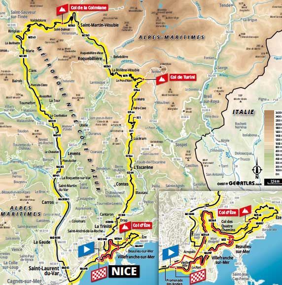 Stage 2 of the 2020 Tour de France