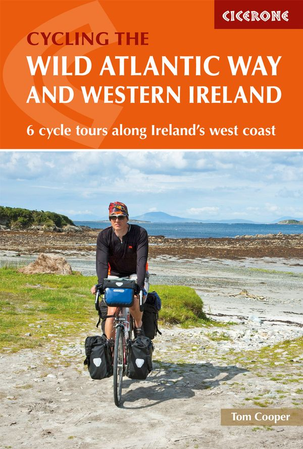 Cycling the Wild Atlantic and Western Ireland Way  guide book