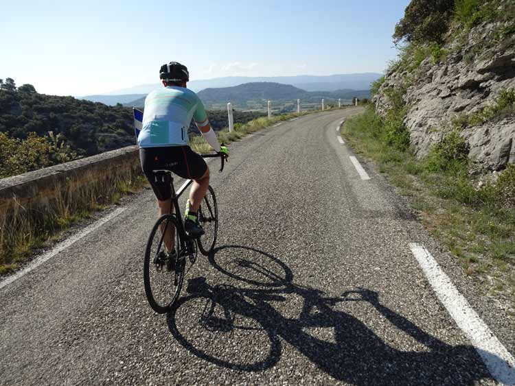Vaucluse cycling routes