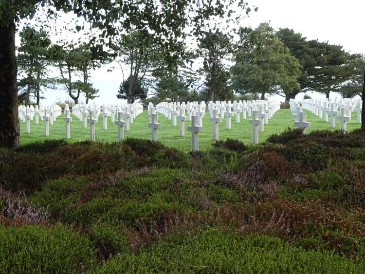 The American Cemetery at Colleville-sur-Mer, D-Day Beaches