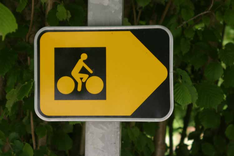 signposts cycling