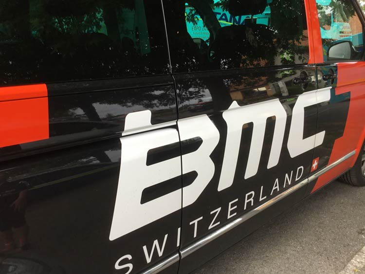 BMC car tour de france