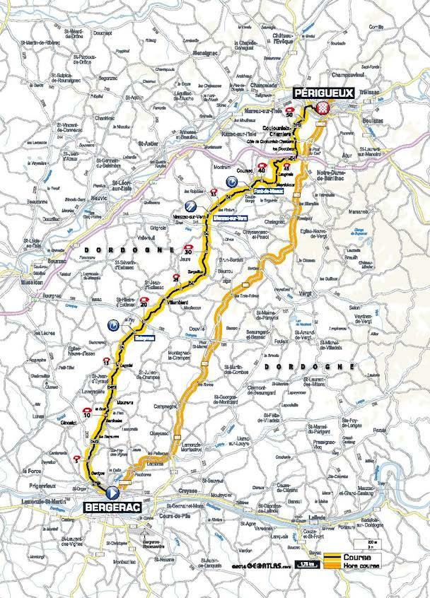 Tour De France Bergerac To Perigueux July 26 2014