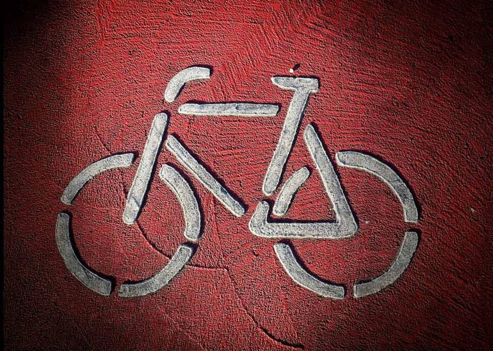 Bike sign by  Michael Nukular