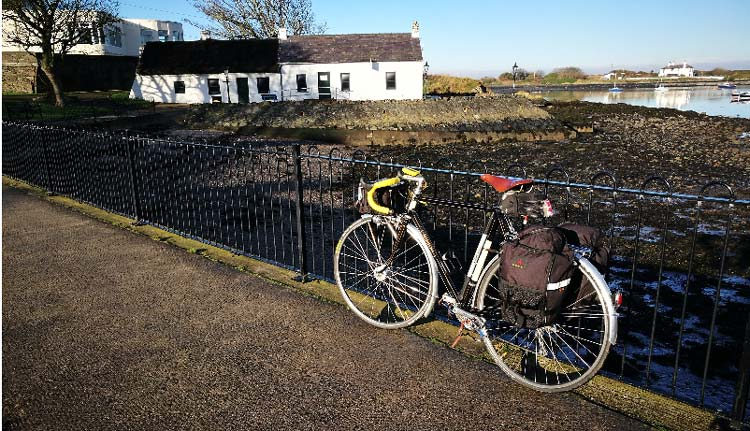 Cycle touring with panniers