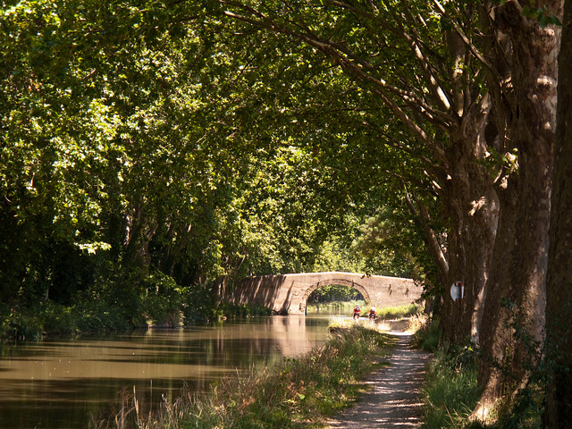 Narbonne is a good access point for the Canal du Midi. Photo: Isaac Alvarez Brugada