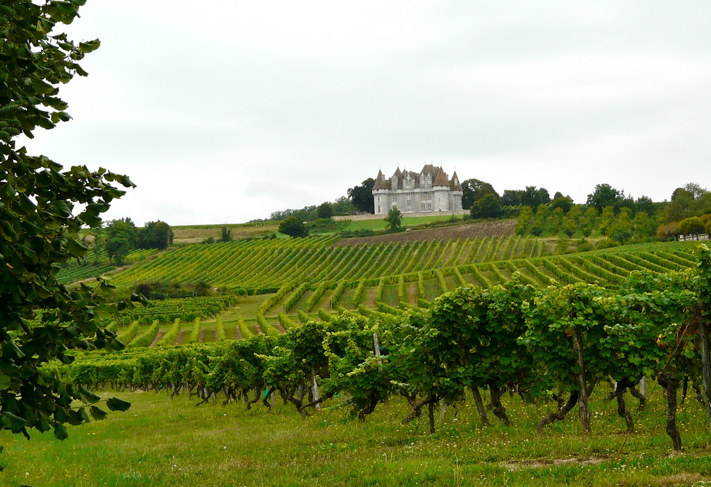 Chateau Monbazillac produces sweet whites on the outskirts of Bergerac. Photo Henri-Jean Siperius