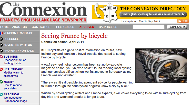 Connexion Freewheeling France