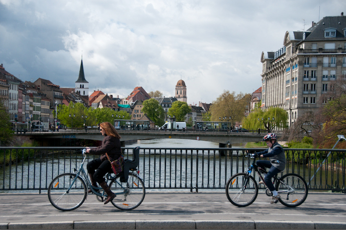Cycling in Strasbourg by I Bike Strasbourg