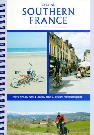 Cover of the Cycling Southern France guidebook by Richard Peace