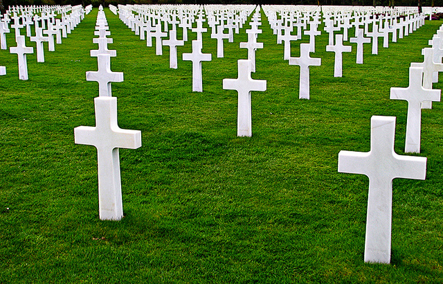 D-Day cemetery. Photo: Andree & Edward