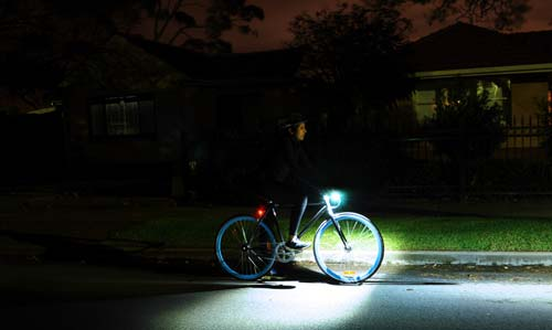 DING bike lights