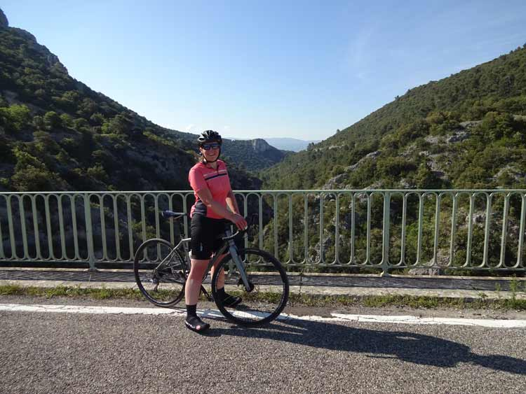 Provence bike route