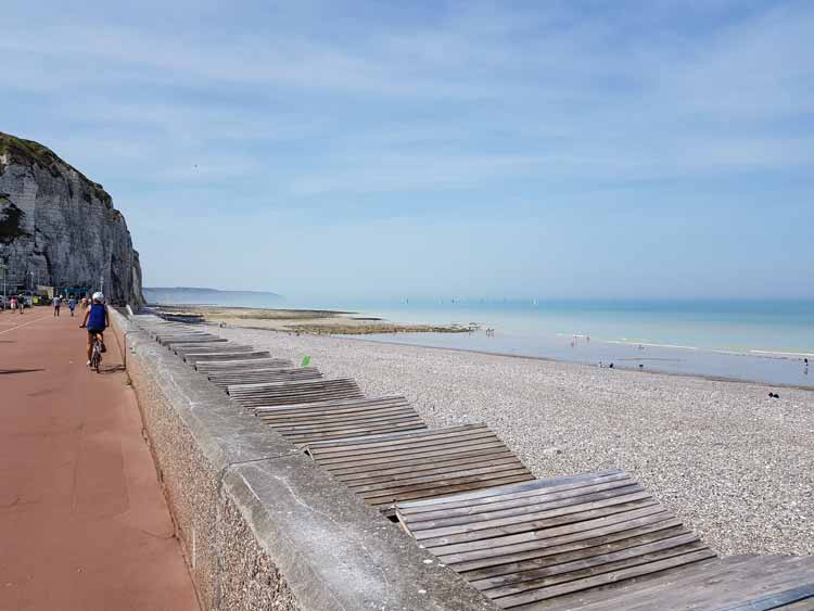 Cycling in Dieppe