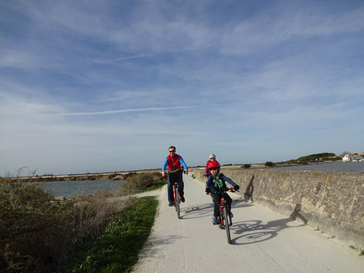 Cycling on Île de Ré