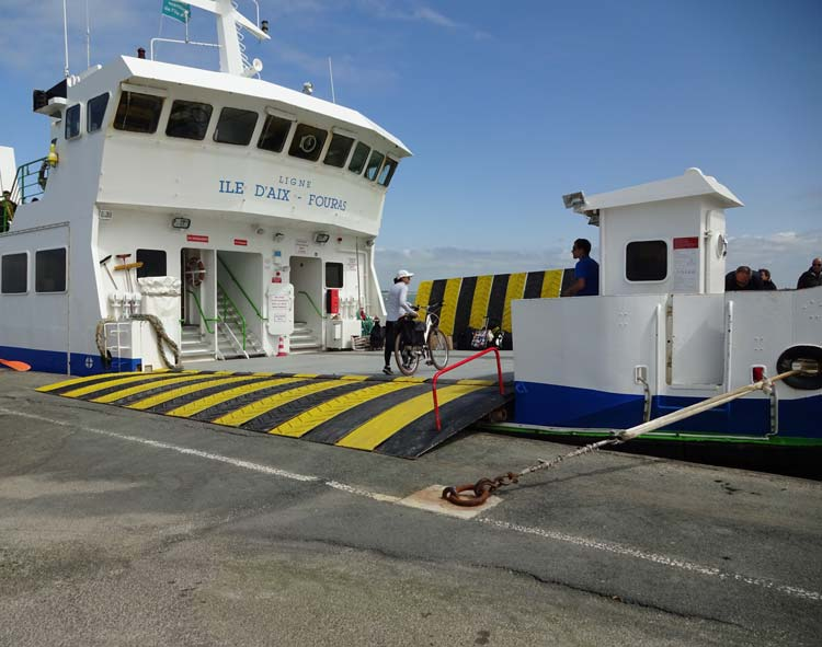 Fouras Ferry Port