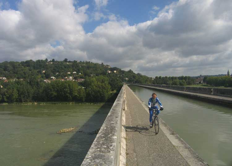 Garonne Canal at Agen