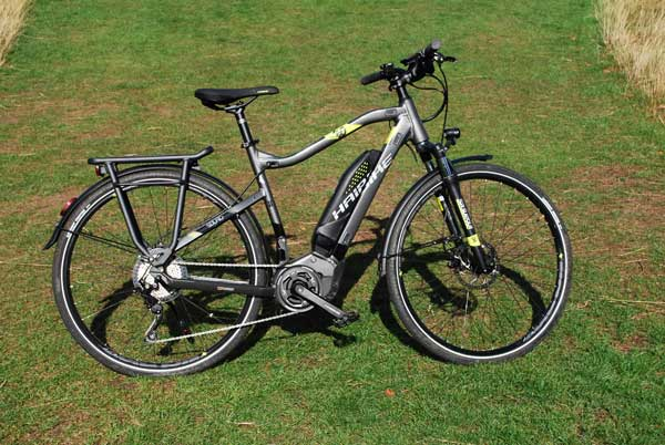 bike review haibike sduro trekking 4 0 electric bike. Black Bedroom Furniture Sets. Home Design Ideas