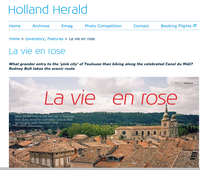Holland Herald Cycling in France