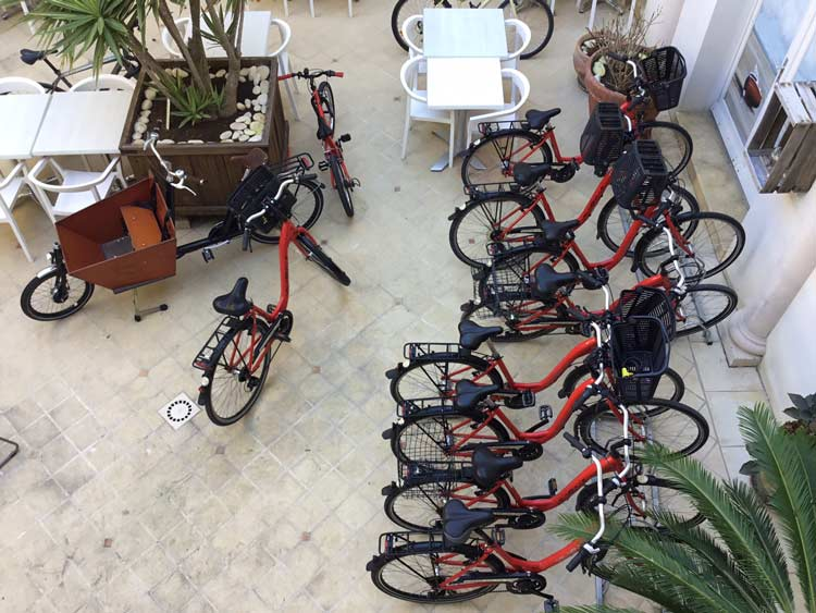 Bike hire on Ile de Re