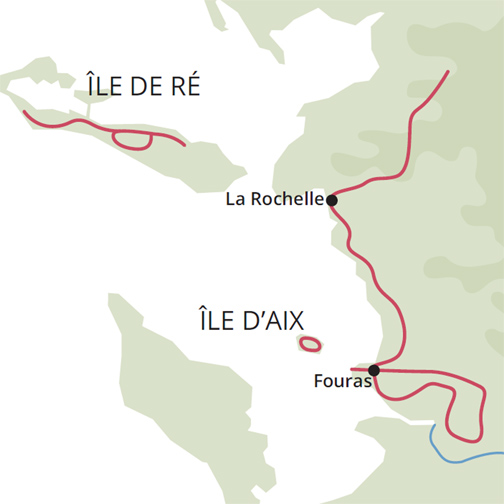 La Rochelle cycle tour