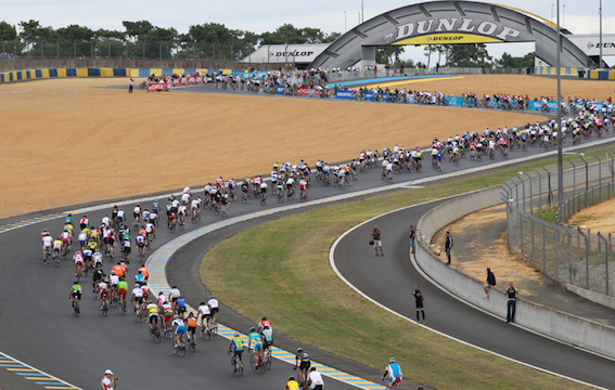 Le Mans 24 -hour cyclosportive