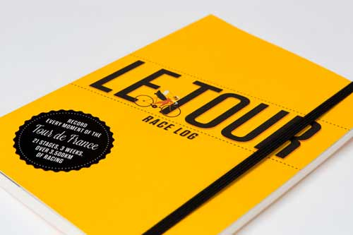 Le Tour: Race Log by Claire Beaumont and Neil Stevens