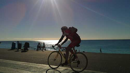 Cycling in Nice, Provence