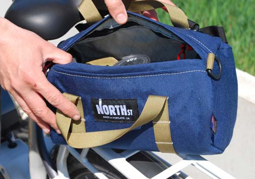 North St Handlebar Bag