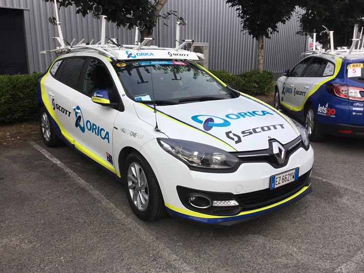Orica car tour de france