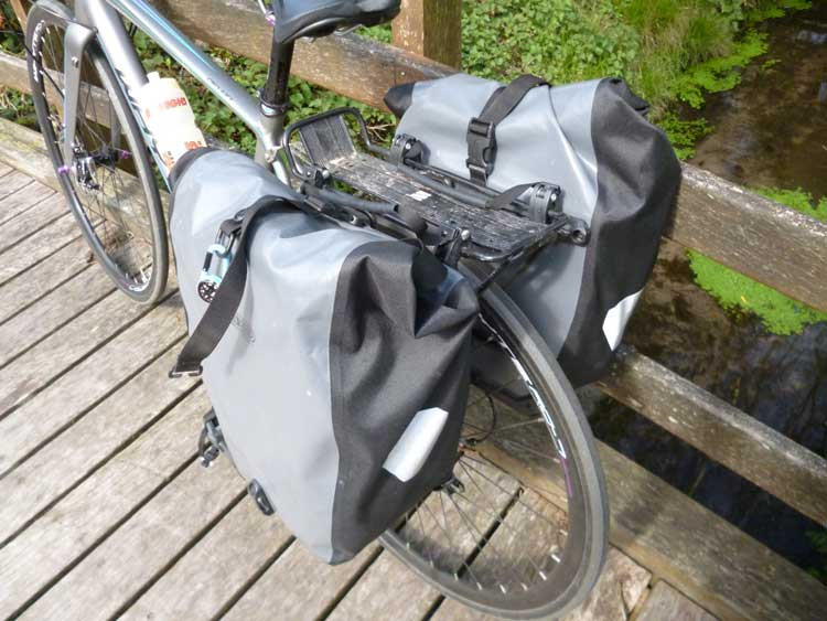 Product Review Ortlieb Panniers Freewheeling France