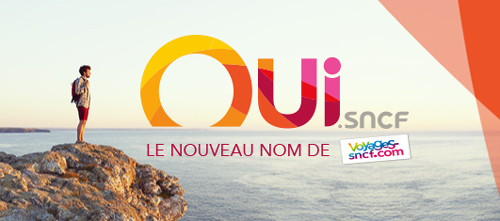 Voyages-sncf becomes OUI.sncf