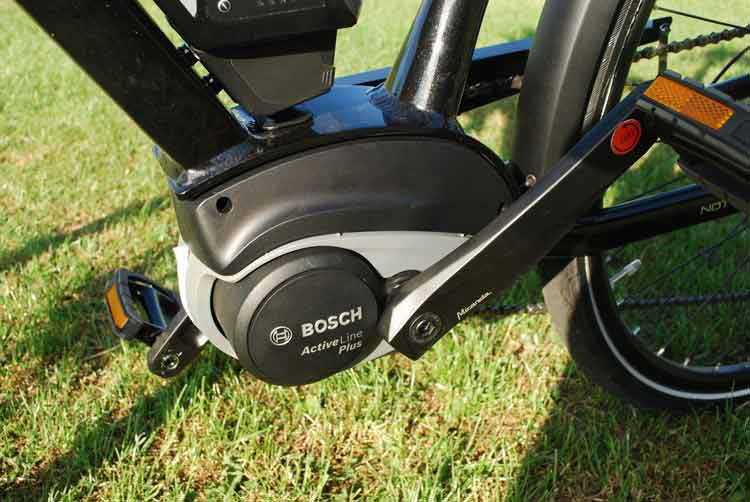 Raleigh Motus Grand Tour ebike motor