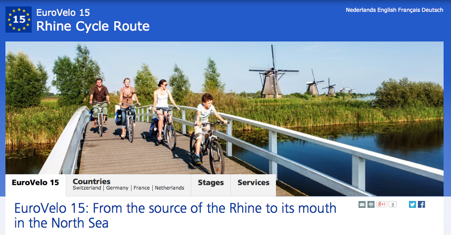 Rhine River Route