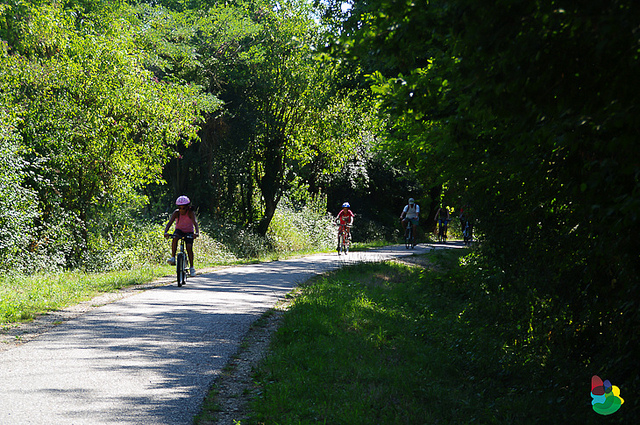 Roger Lapebie bike path. Photo: Tourisme Gironde