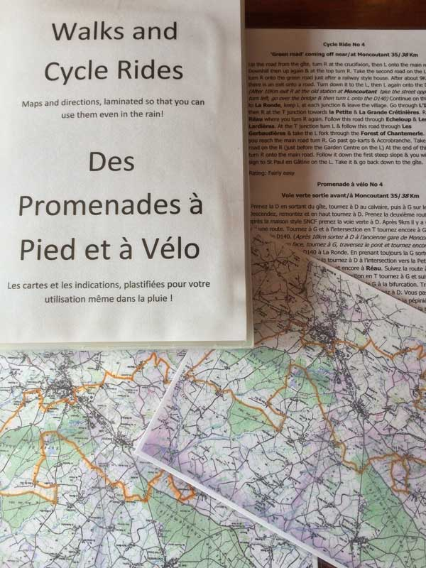 Routes near to Gites Au Marcassin