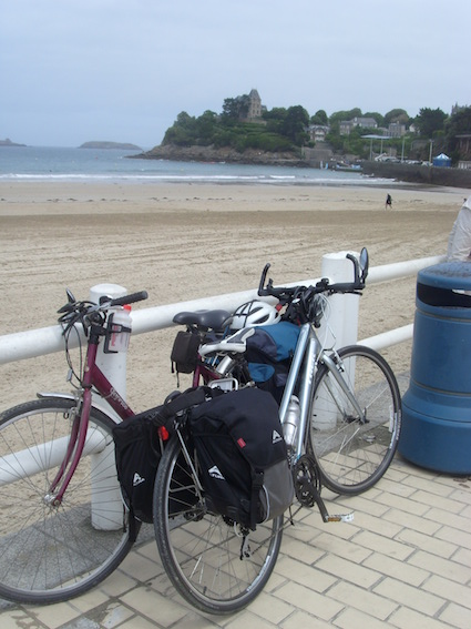 The seafront at Dinard. Photo: Hilde Morris