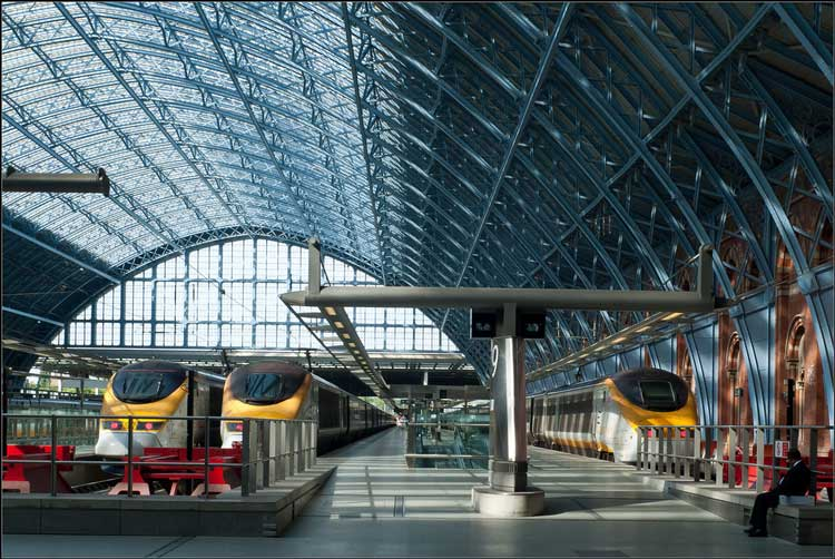St Pancras International Eurostar