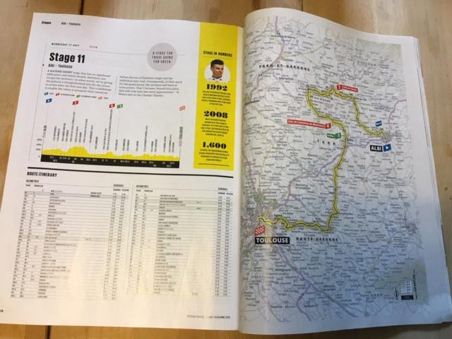 2021 Tour de France official program and race guide - OUT NOW