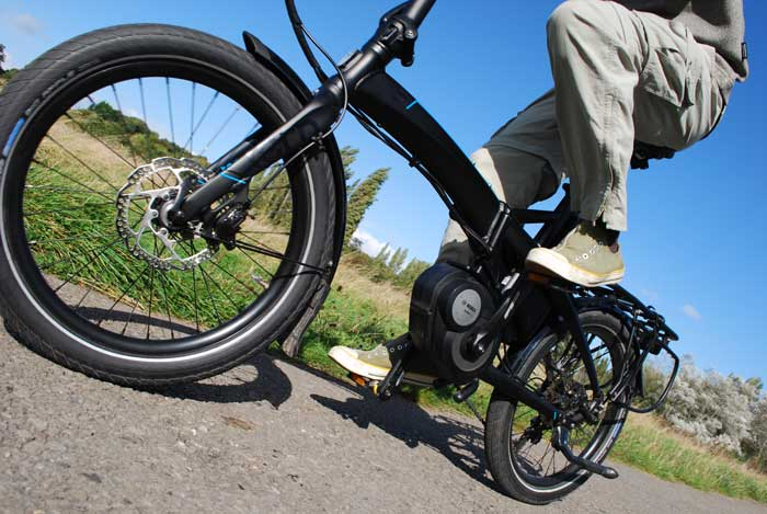 Tern Vektron electric folding bike