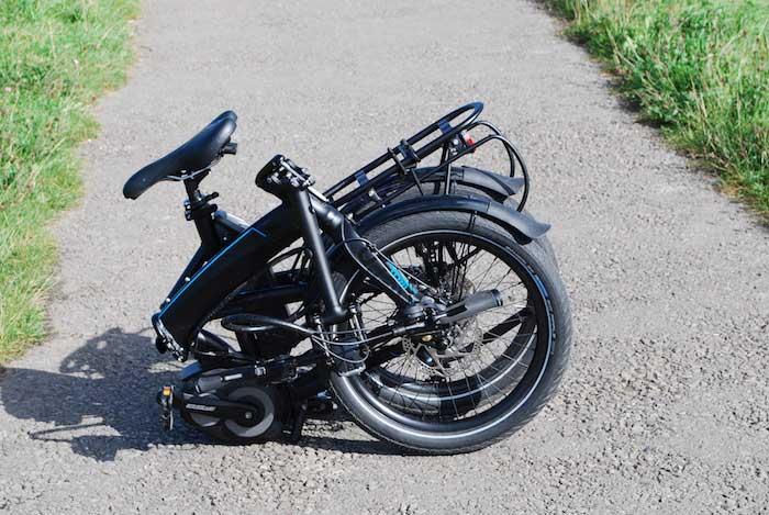 Folding Bikes Review Tern Verge Tour Bickerton Argent