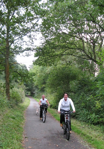 The 23km Cuckoo Trail in East Sussex in the south of England connects Hampden Park to Heathfield. Photo: Richard Peace