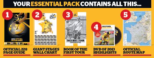 Official  Tour De France Race Guide Premium