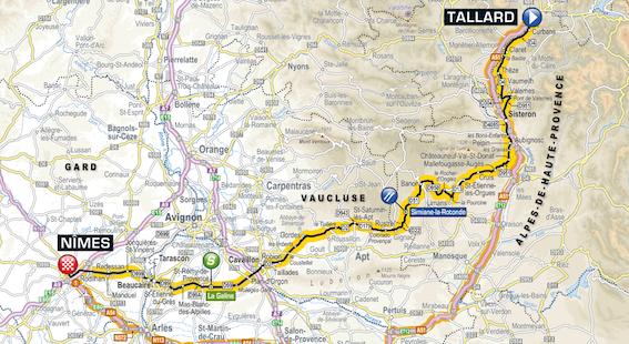 Tour De France Road Closures
